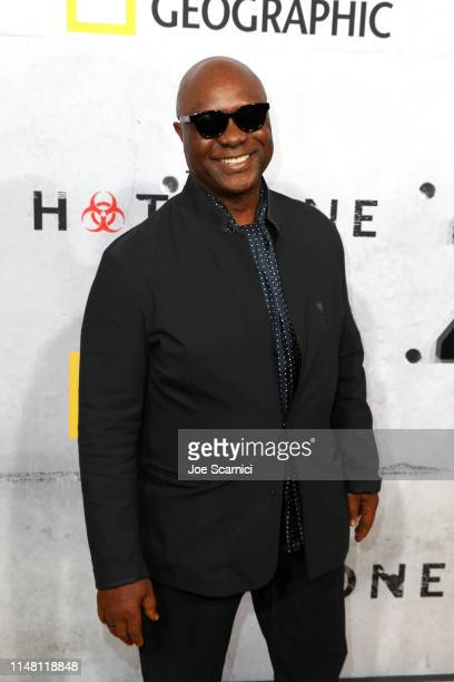 """Robert Wisdom attends the L.A. Premiere of National Geographic's 3-Night Limited Series """"The Hot Zone"""", which premieres Monday, May 27, 9/8c, at..."""