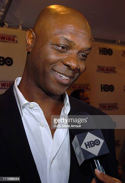 """Robert Wisdom during HBO's """"The Wire"""" New York Premiere -September 7, 2006 at Chelsea West Cinema in New York City, New York, United States."""