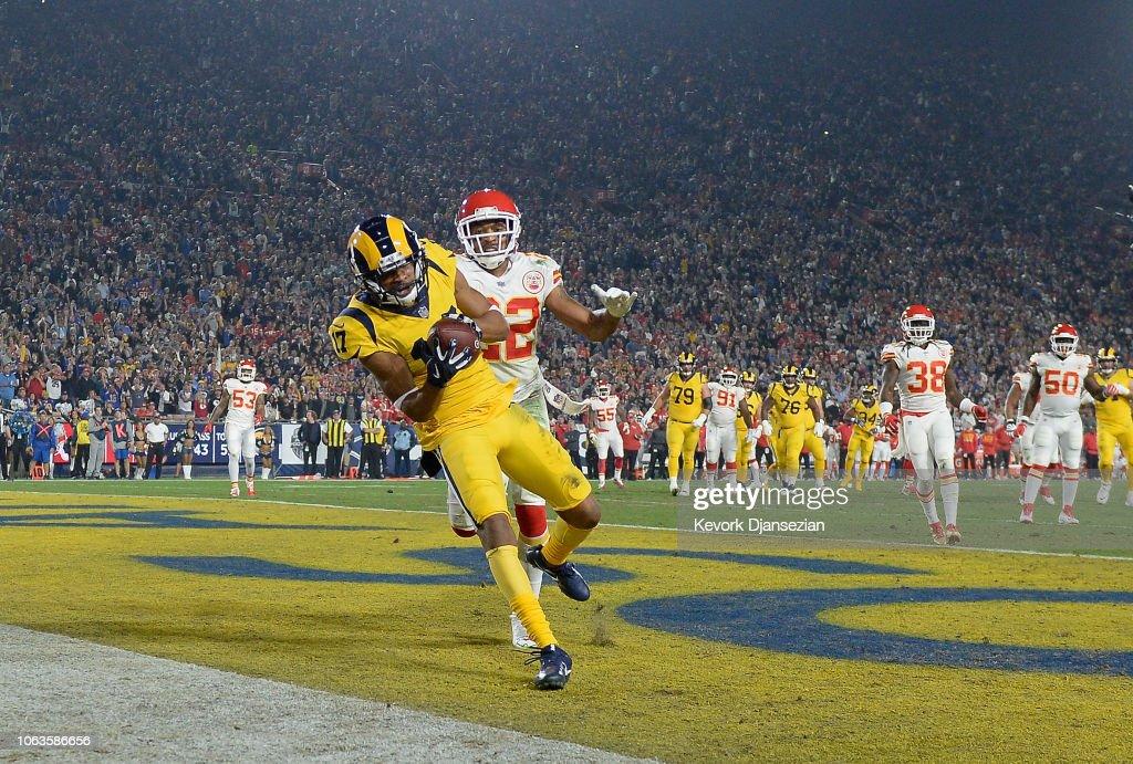 Kansas City Chiefs v Los Angeles Rams : News Photo