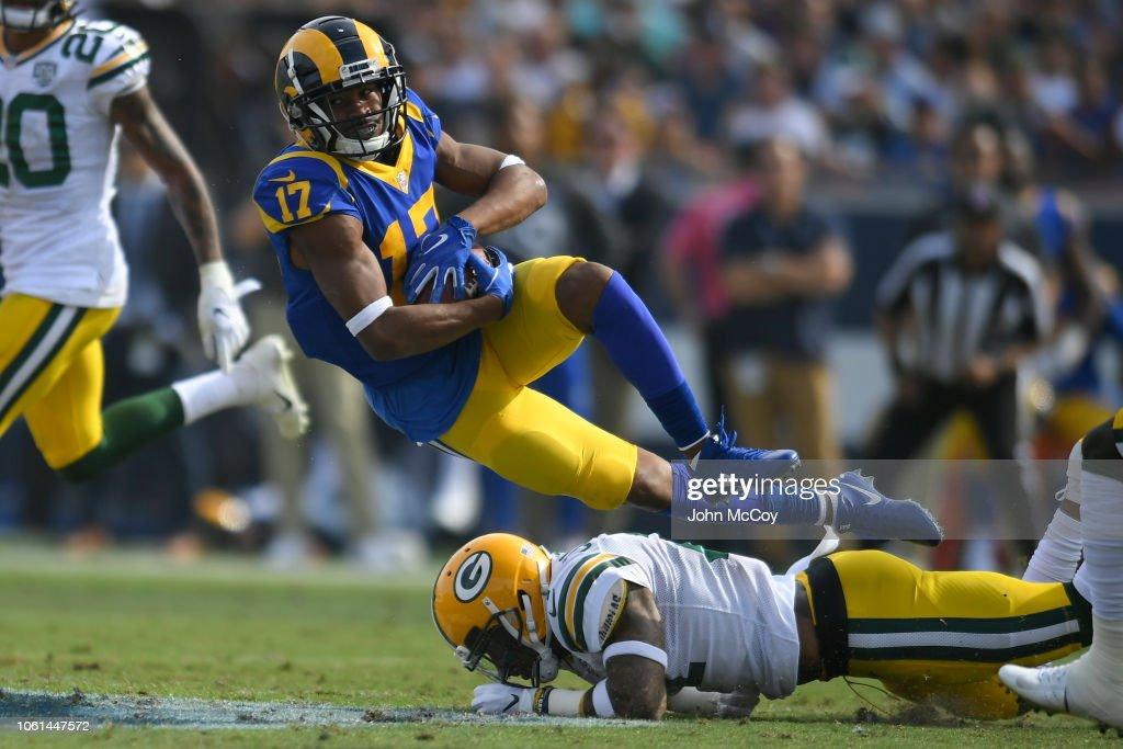 Green Bay Packers v Los Angeles Rams : News Photo