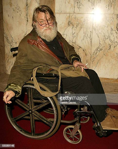 Robert Wyatt arrives for The MOJO Honours List 2005 the music magazine's second annual awards at Porchester Hall on June 16 2005 in London England...