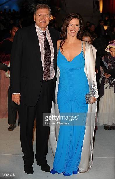 Robert Zemeckis and guest attend the UK Premiere of 'A Christmas Carol' at Empire Leicester Square on November 3 2009 in London England