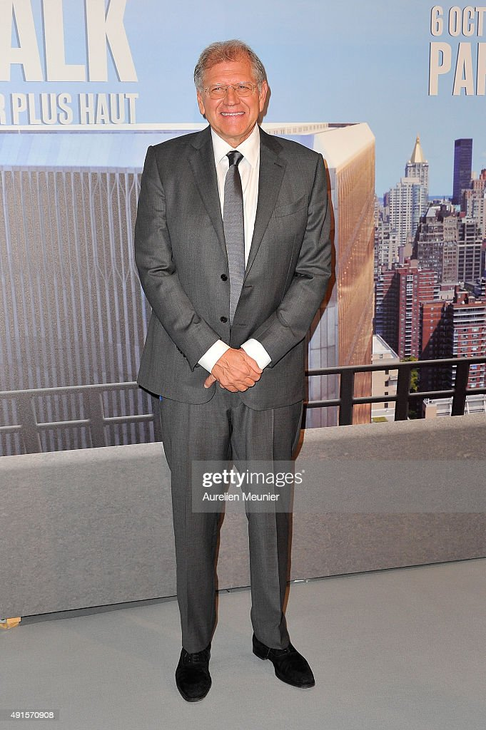 Robert Zemeckis attends the 'The Walk: Rever Plus Haut' Paris premiere at Cinema UGC Normandie on October 6, 2015 in Paris, France.