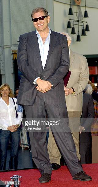 Robert Zemeckis during Director Robert Zemeckis Honored with a Star on the Hollywood Walk of Fame for His Achievements in Film at Walk Of Fame in...