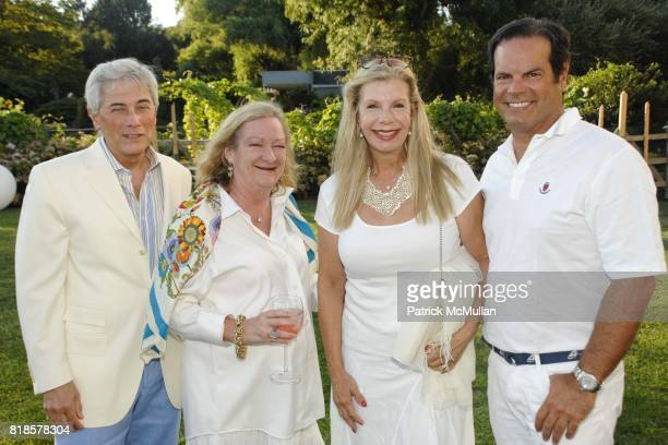Robert Zimmerman Pandora Biddle Princess Yasmin Aga Khan and Balise Labriola attend Louis Vuitton with Anne Hearst McInerney and Jay McInerney in the...