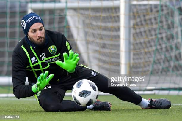 Robert Zwinkels of ADO Den Haag during the Training ADO Den Haag at the Cars Jeans Stadium on January 26 2018 in Den Haag Netherlands