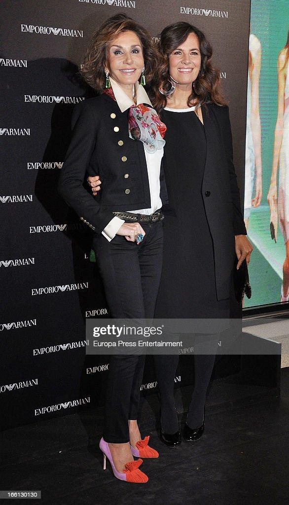 Roberta Armani Attends Emporio Armani Boutique