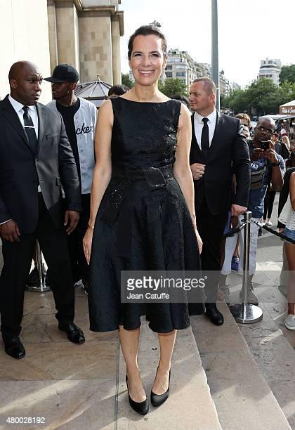 Roberta Armani attends Giorgio Armani Prive fashion show at the Palais de Chaillot at Trocadero during Paris Fashion Week Haute Couture Fall/Winter...