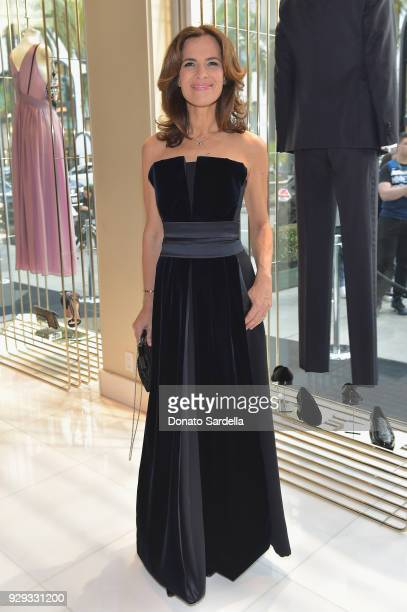 Roberta Armani attends Giorgio Armani's celebration of 'The Shape of Water' hosted by Roberta Armani on March 3 2018 in Beverly Hills California