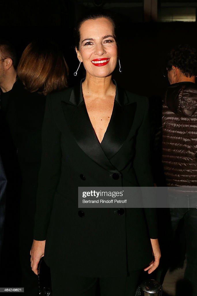 Roberta Armani attends the Giorgio Armani Prive show as part of Paris Fashion Week Haute Couture Spring/Summer 2014 on January 21, 2014 in Paris, France.