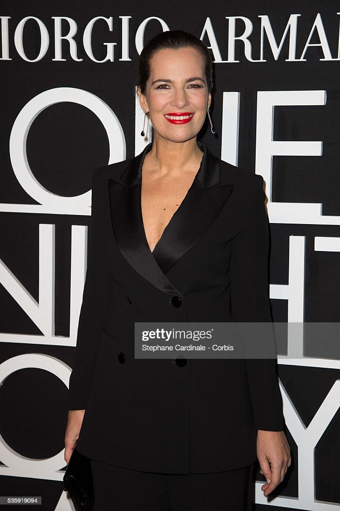 Roberta Armani attends the Giorgio Armani Prive show as part of Paris Fashion Week Haute Couture Spring/Summer 2014, at Palais de tokyo in Paris.