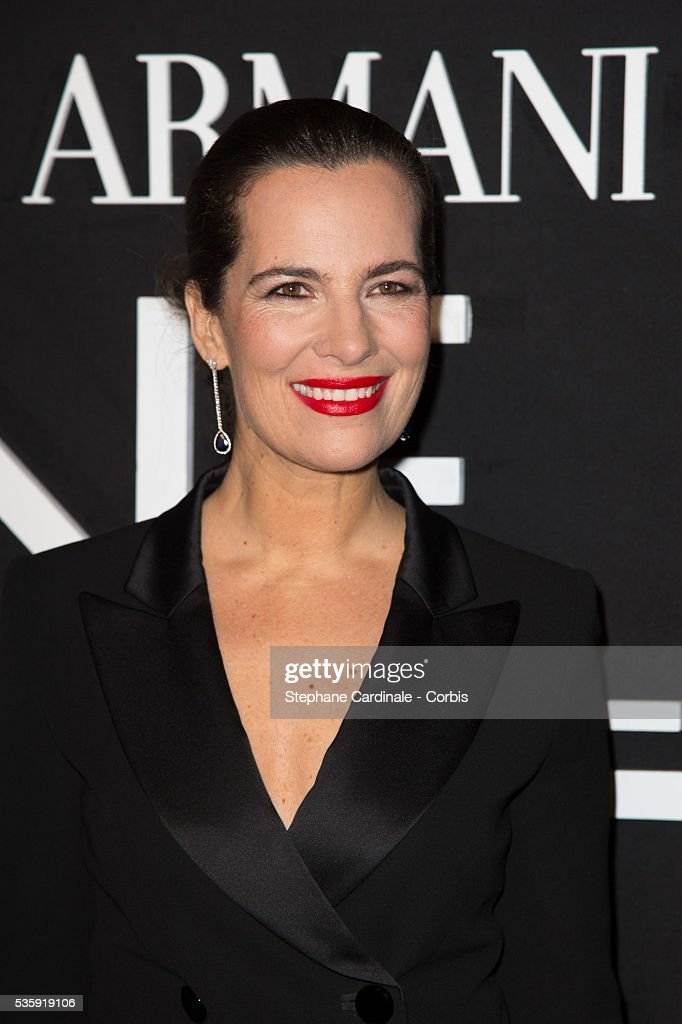 Roberta Armani attends the Giorgio Armani Prive show as part of Paris Fashion Week Haute Couture Spring/Summer 2014, at Palais de tokyo in Paris.