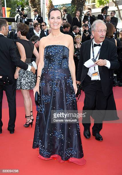 Roberta Armani attends 'The Last Face' Premiere during the 69th annual Cannes Film Festival at the Palais des Festivals on May 20 2016 in Cannes...