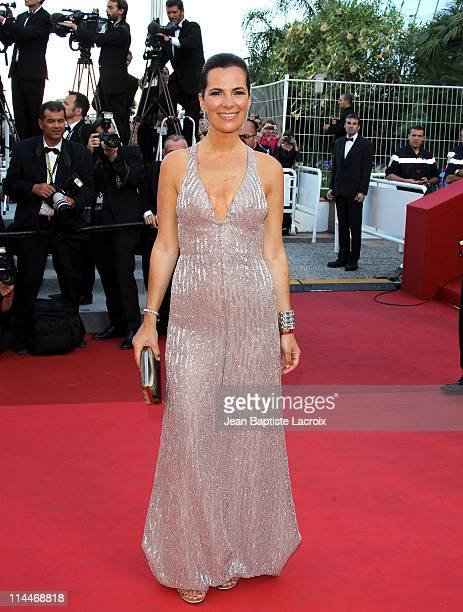 Roberta Armani attends the 'This Must Be The Place' Premiere during the 64th Cannes Film Festival at Palais des Festivals on May 20 2011 in Cannes...
