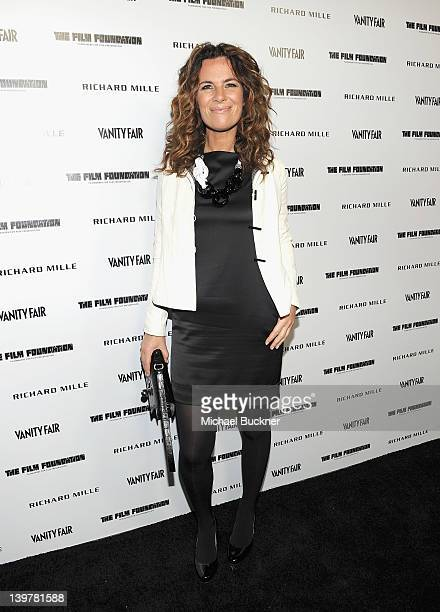 Roberta Armani attends Vanity Fair and Richard Mille celebration of Martin Scorsese in support of The Film Foundation at Hotel BelAir on February 24...