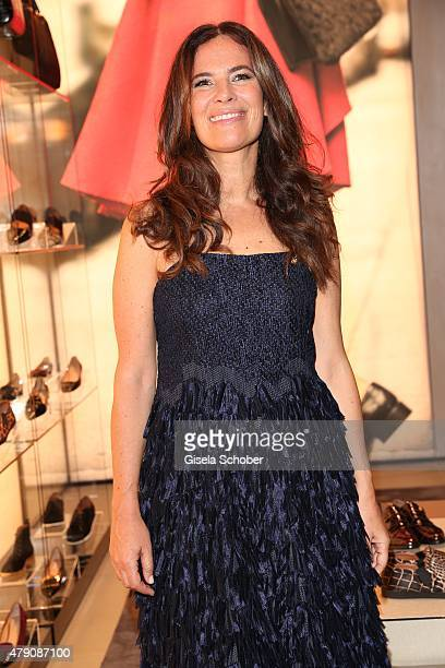 Roberta Armani niece of Giorgio Armani during the Emporio Armani Sounds event in connection with the reopening of the store on June 30 2015 in Munich...