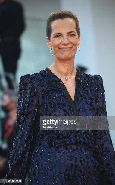 Roberta Armani walks the red carpet ahead of closing ceremony at the 77th Venice Film Festival on September 12, 2020 in Venice, Italy.