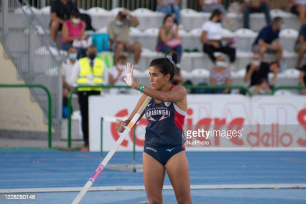 Roberta Brunet Italien Olympia Bronze Leichtathletik original signiert M-7335