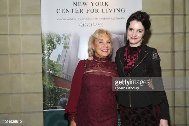 Roberta Caplan and Arielle Baumgarten attend 10th Anniversary Gala Celebration at The Pierre Hotel on October 11 2018 in New York City