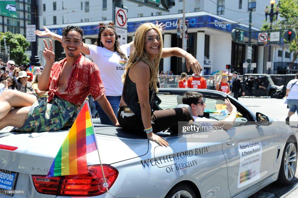 San Francisco Pride Parade And Celebration 2019 : News Photo