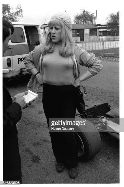 Roberta Cowell Britain's first man to undergo a sex change operation and become a woman, 1972.