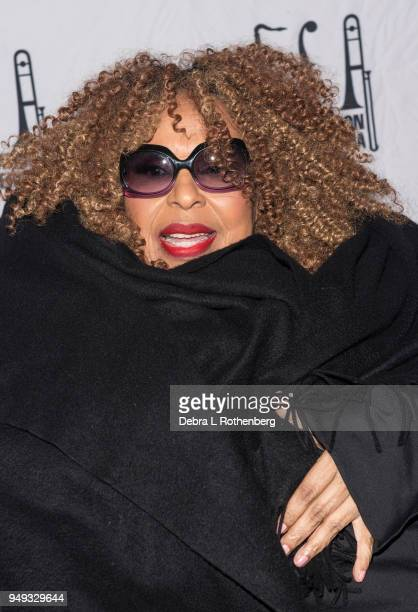 Roberta Flack attends the 16th Annual A Great Night in Harlem Gala at The Apollo Theater on April 20 2018 in New York City