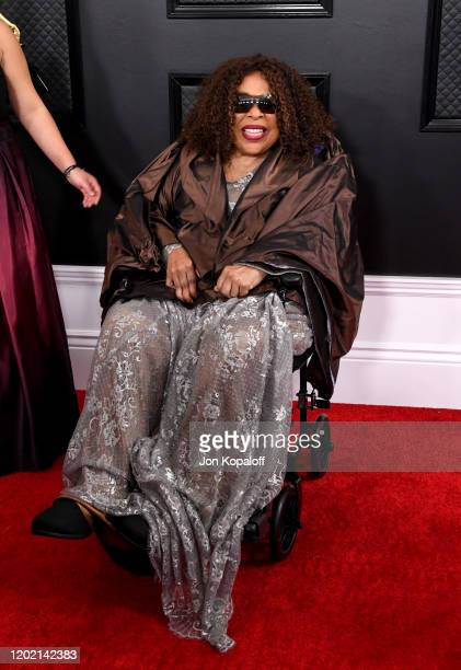 Roberta Flack attends the 62nd Annual GRAMMY Awards at Staples Center on January 26 2020 in Los Angeles California