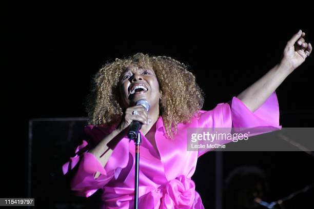 Roberta Flack during Roberta Flack in Concert at the Hammersmith Apollo in London July 18 2006 at Hammersmith Apollo in London Great Britain