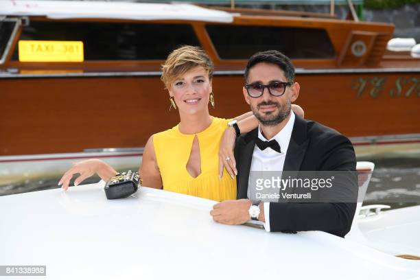 Roberta Giarrusso and Riccardo Pasquale is seen during the 74 Venice Film Festival on August 31 2017 in Venice Italy
