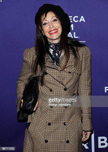 """Roberta Handley attends the """"The Killer Inside Me"""" premiere during the 9th Annual Tribeca Film Festival at the SVA Theater on April 27, 2010 in New..."""