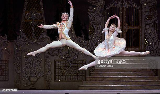 Roberta Marquez and Ivan Putrov in the Royal Ballet's production The Nutcracker at the Royal Opera House Covent Garden London Composer Pyotr Ilyich...