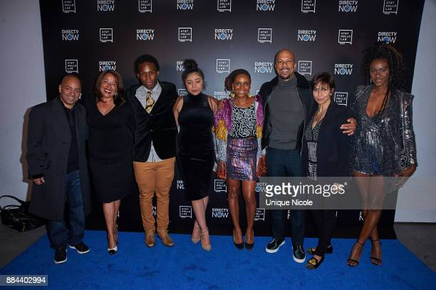 Roberta Munroe Dabier Snell Nefertite Nguvu and Common attend ATT Hello Lab's Mentorship Program Debuts Five Short Films Red Carpet at Hammer Museum...