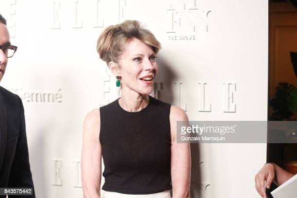 Roberta Myers attends the ELLE E IMG Host A Celebration of Personal Style NYFW Kickoff Party at 5 Doyers St on September 6 2017 in New York City