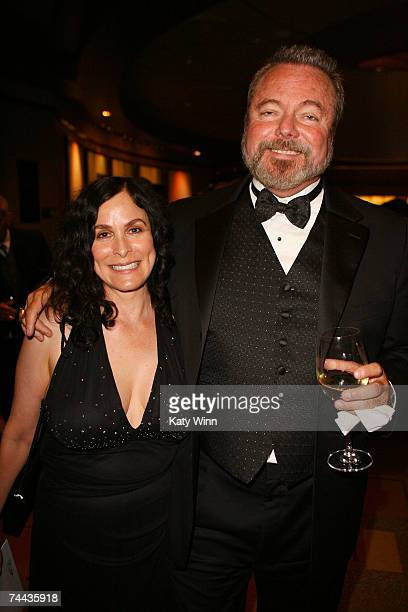 ACCESS** Roberta Pacino and Mark Richman attend the preshow cocktail reception during the 35th AFI Life Achievement Award tribute to Al Pacino held...