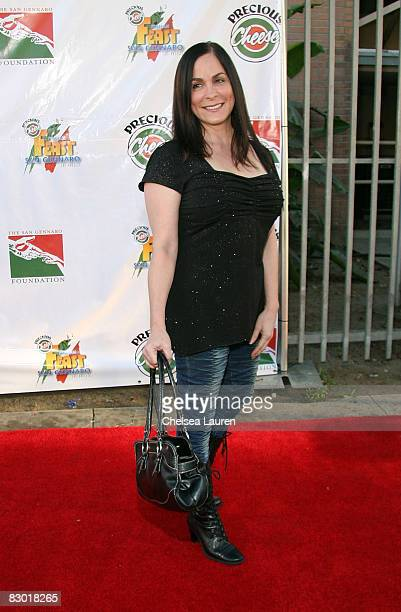 Roberta Pacino arrives at the 7th annual precious cheese Italian feast of San Gennaro on September 25 2008 in Hollywood California