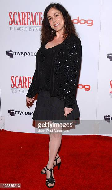 Roberta Pacino during Scarface E3 Party Arrivals in Los Angeles California United States