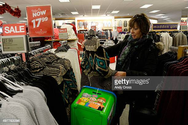 Roberta Paser does a little holiday shopping at Kohl's Lone Tree November 18 2015 Photo by Andy Cross/The Denver Post via Getty Images