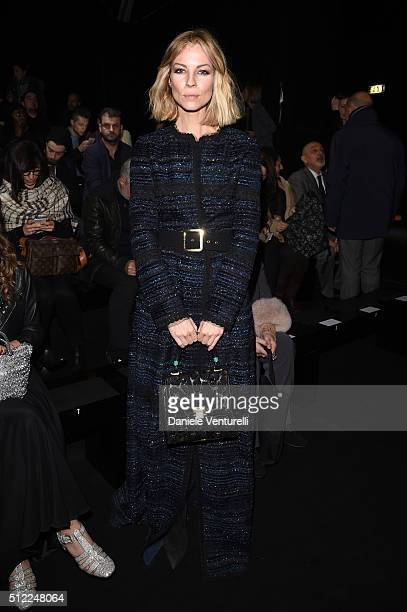 Roberta Ruiu attends the Anteprima show during Milan Fashion Week Fall/Winter 2016/17 on February 25 2016 in Milan Italy