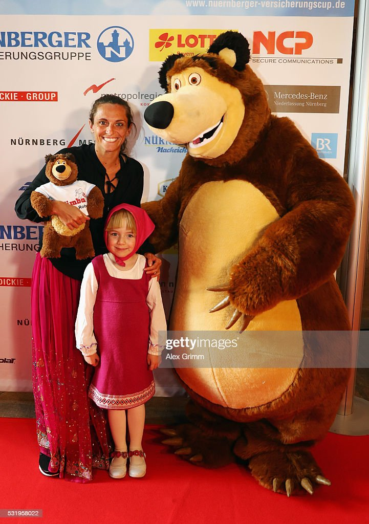 Roberta Vinci arrives for the Players' Party on day four of the Nuernberger Versicherungscup 2016 on May 17, 2016 in Nuremberg, Germany.