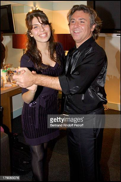 """Roberto Alagna and daughter Ornella at """"Sicilien"""" - Tenor Roberto Alagna Performs Traditional Sicilian Songs At L'Olympia."""