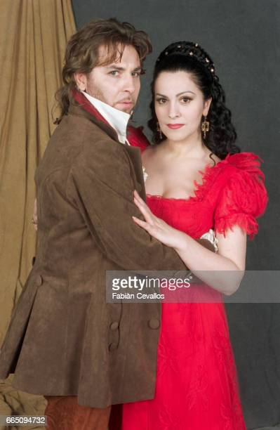 Roberto Alagna and fellow operatic singer/wife Angela Gheorghiu star in Tosca a musical drama directed by Benoit Jacquot