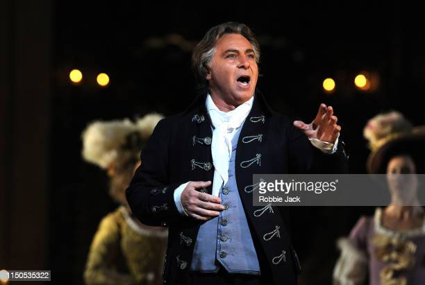 Roberto Alagna as Andrea Chenier in The Royal Opera's production of Umberto Giordano's Andrea Chenier directed by David McVicar and conducted by...