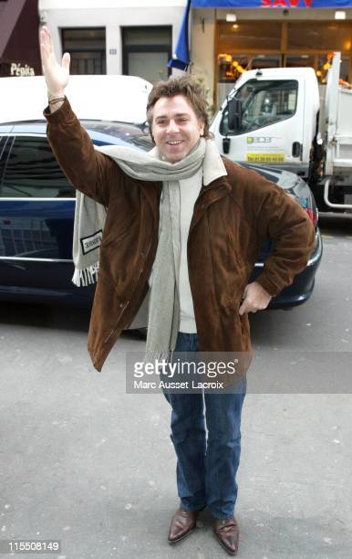 Roberto Alagna during Roberto Alagna Sighting in Paris - January 23, 2007 at Radio RTL Studios in Paris, France.