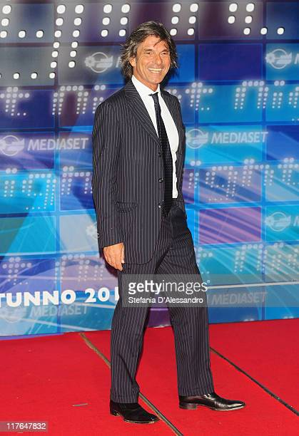 Roberto Alessi attends Mediaset Night TV Programming Presentation held at Mediaset Studios on June 29 2011 in Milan Italy