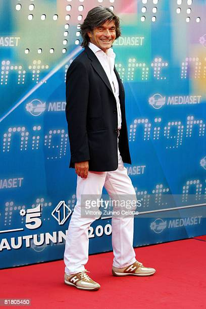 Roberto Alessi attends Mediaset TV programming presentation on July 2 2008 in Milan Italy