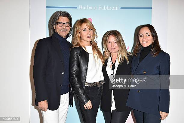 Roberto Alessi Joe Squillo Barbara Fabbroni and Camila Raznovich attend the book presentation of 'L'AMORE FORSE' by Barbara Fabbroni on December 3...