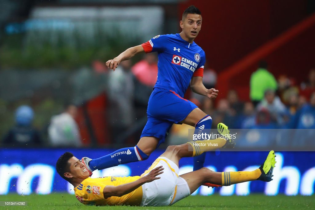 Cruz Azul v Tigres UANL - Torneo Apertura 2018 Liga MX : News Photo