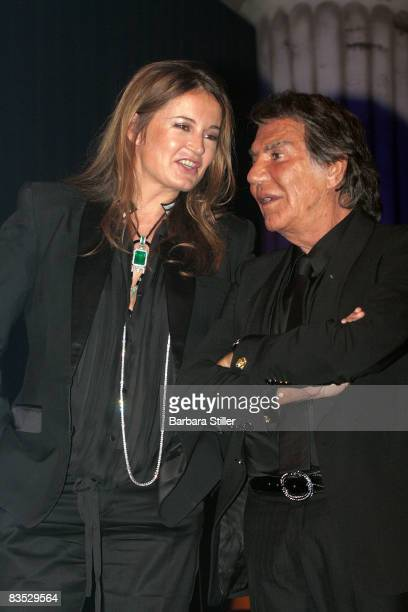 Roberto and Eva Cavalli attend the UNESCO Benefit Gala for Children 2008 at Hotel Maritim on November 1 2008 in Cologne Germany