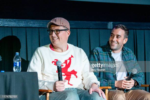 Roberto AquirreSacasa and Michael Grassi attend the Katy Keene screening at the 2019 Tribeca TV Festival at Regal Battery Park Cinemas on September...