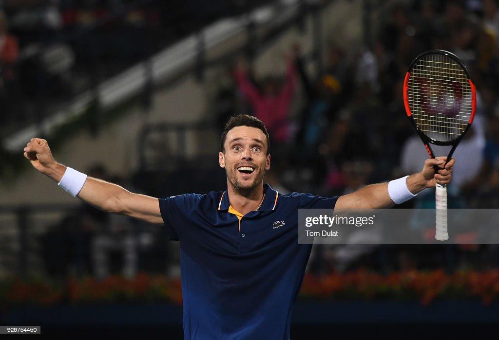 ATP Dubai Duty Free Tennis  Championship - Day Six : ニュース写真